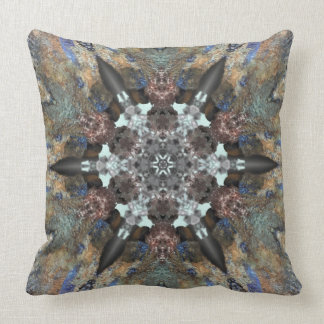 Crystals and rocks pillow