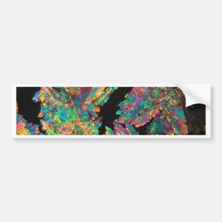Crystals of Diclofenac under the microscope. Bumper Sticker