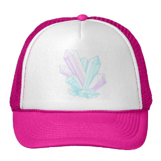 crystals trucker hat