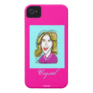 Crystel Sketch iPhone 4 Case-Mate Case