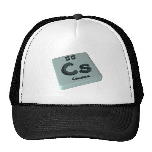 Cs Caesium Mesh Hats