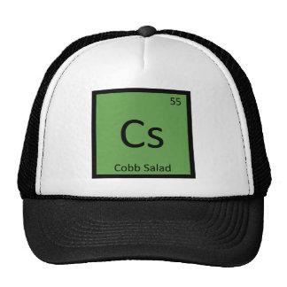 Cs - Cobb Salad Chemistry Periodic Table Symbol Trucker Hat