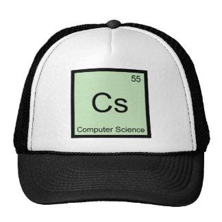 Cs - Computer Science Chemistry Element Symbol Tee Trucker Hat