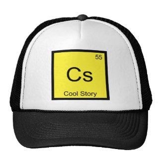 Cs - Cool Story Chemistry Element Symbol Meme Tee Trucker Hat