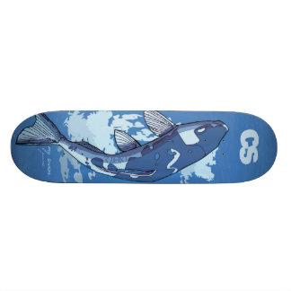 CS Fish Deck Skateboard