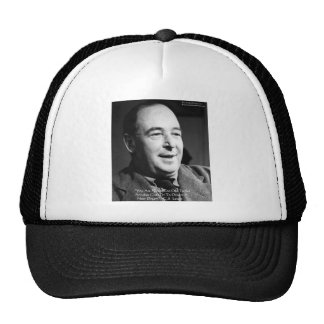 "CS Lewis ""Aging Dreams"" Wisdom Quote Gifts Trucker Hat"