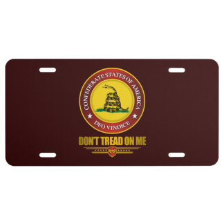 CSA -Don't Tread On Me License Plate