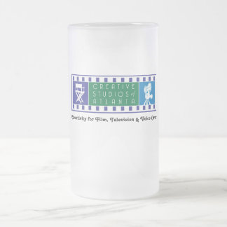 CSA Frosted Mug with Color Logo