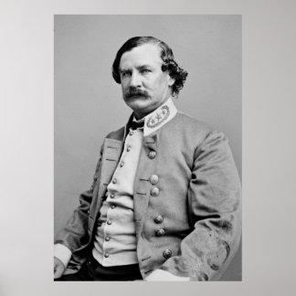 CSA General Benjamin F. Cheatham, 1860s Poster
