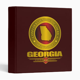 CSA Georgia 3 Ring Binders