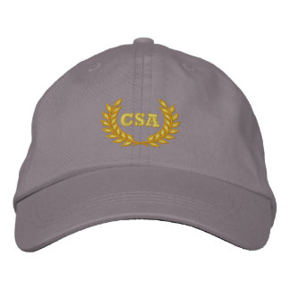 CSA with laurel Embroidered Baseball Cap