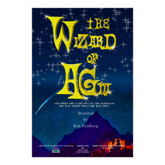 CSA Wizard of Agni 27X40 Movie Poster