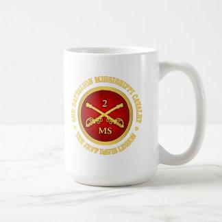 CSC -2nd Battalion Mississippi Cavalry Coffee Mug
