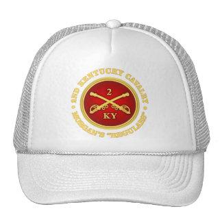 CSC -2nd Kentucky Cavalry (brass-red) Trucker Hat