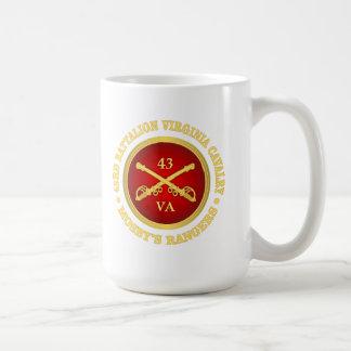 CSC -43rd Battalion Virginia Cavalry (Mosby) Coffee Mug