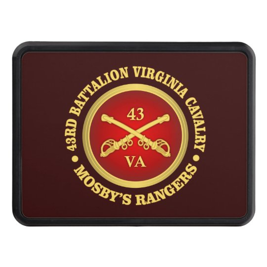 CSC -43rd Battalion Virginia Cavalry (Mosby) Trailer Hitch Cover