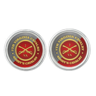 CSC -7th Virginia Cavalry (Ashby's Cavalry) Cufflinks