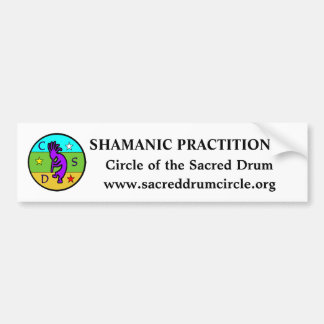 CSD School of Shamanism Bumper Sticker