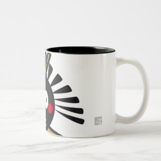 CSeeK GirlBl Two-Tone Coffee Mug