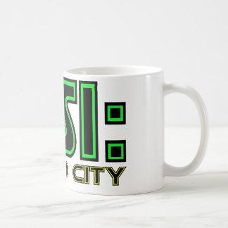 CSI Cloud City Basic White Mug