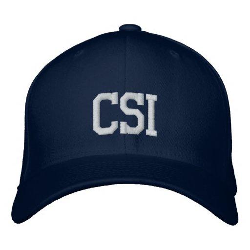 CSI EMBROIDERED HATS
