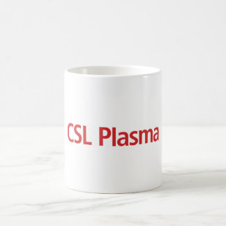 CSL Plasma white coffee mug