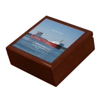 CSL St. Laurent keepsake box