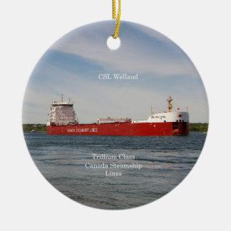 CSL Welland ornament