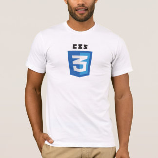 CSS3 Logo White T-Shirt