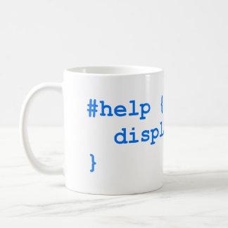 CSS NO help Coffee Mug