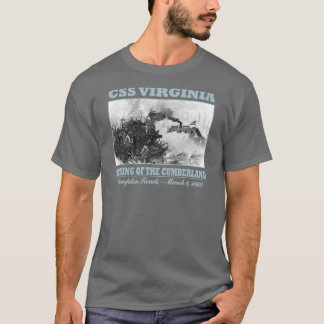 CSS Virginia -Hampton Roads T-Shirt