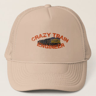 CSX Crazy Train Engineer Hat