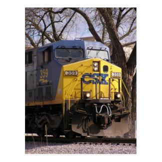 CSX Train Postcard