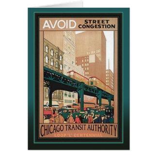CTA Loop Centennial Chicago Card