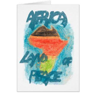 CTC International - Africa Greeting Card