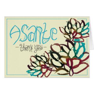 CTC International - Asante Greeting Card