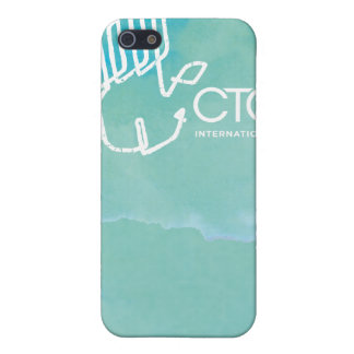 CTC International -  Blue iPhone 5 Cover