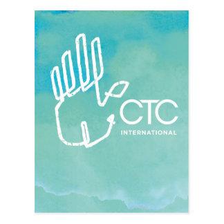 CTC International -  Blue Postcard