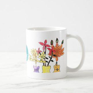 CTC International -  Flowers Classic White Coffee Mug