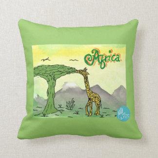 CTC International - Giraffe Throw Pillow