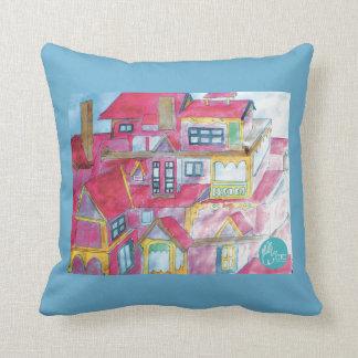 CTC International - Houses Pillow