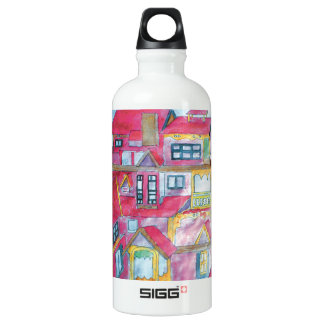 CTC International - Houses Water Bottle