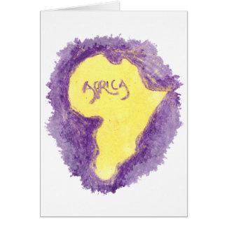 CTC International - Purple Greeting Card