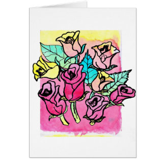 CTC International -  Roses 3 Greeting Card