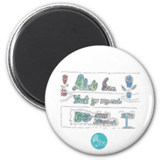 CTC International - Thank You 2 Inch Round Magnet