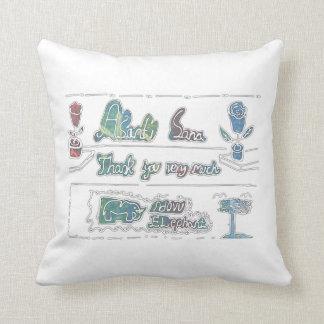 CTC International - Thank You Throw Pillow