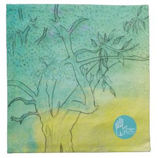 CTC International - Tree Printed Napkin