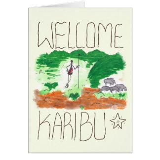 CTC International - Welcome Greeting Card