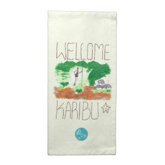 CTC International - Welcome Printed Napkin