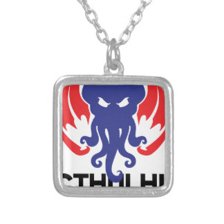 cthulhu 2020 silver plated necklace